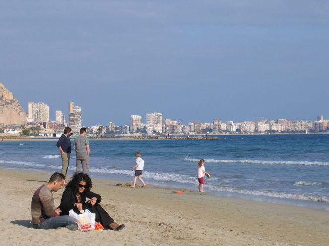 Alicante - Strand