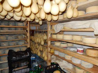 Sardinien - traditionelle Käserei