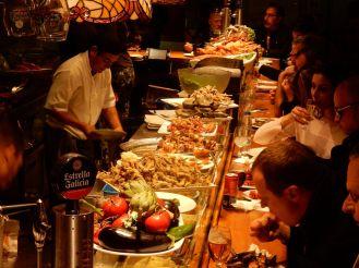 Barcelona - Restaurant im alten Mercato