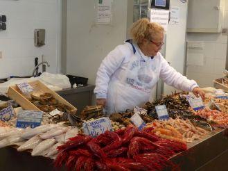 Cadiz - Fischgeschäft