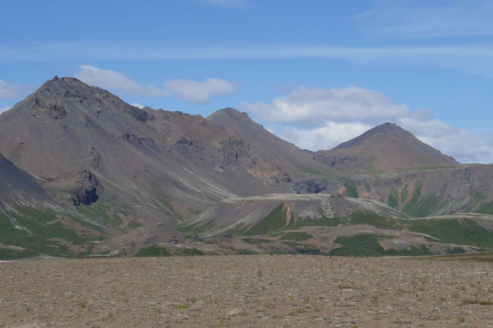 Island - Berglandschaft im Süden
