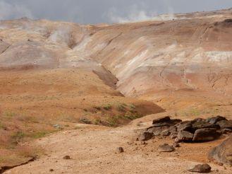 Island - heiße Schlammquellen im Norden