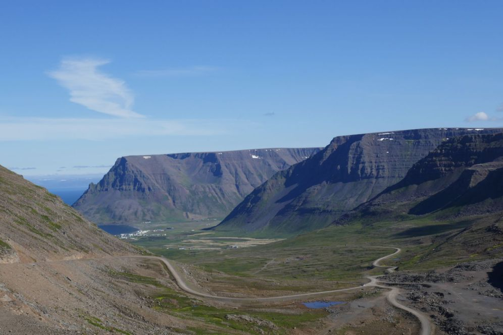 Island - Isafjördur - Berglandschaft