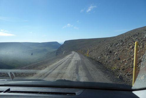Island - Isafjördur - Bergpiste