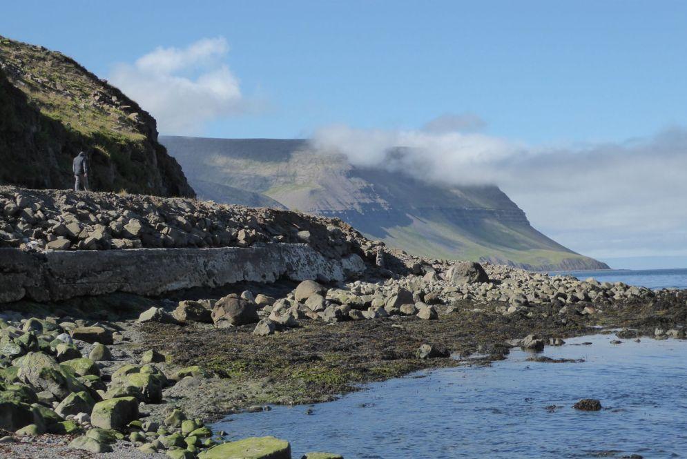 Island - Isafjördur - Küste
