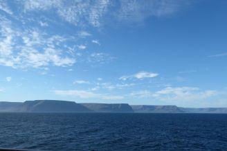 Island - Isafjördur - Panorama mit Tafelbergen