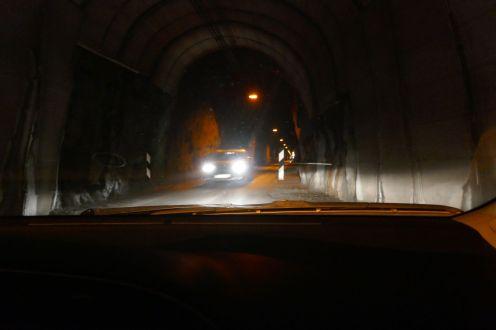 Island - Isafjördur - Tunnel