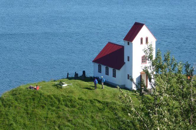 Island - Kirche im Süden