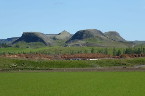 Island - Lava-Hügel