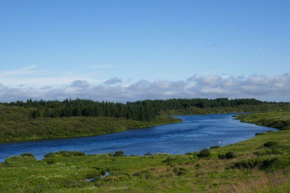 Island - Süden - Flusslauf