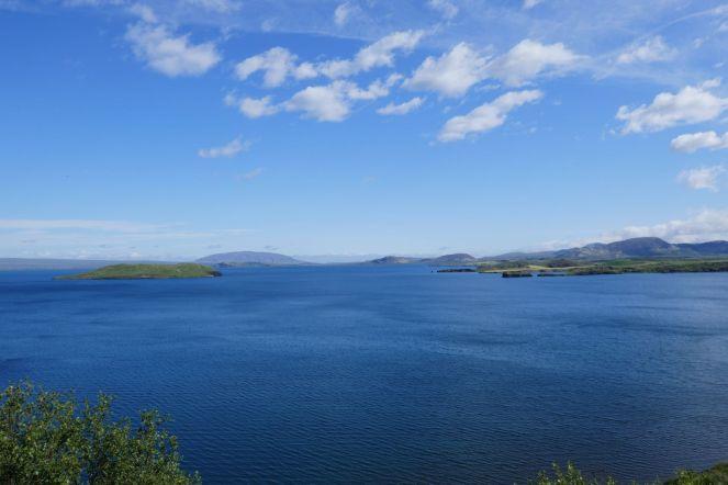 Island - Seen-Landschaft im Süden
