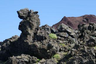 Island - Westm+ñnner Inseln Heimaey - Felsformation