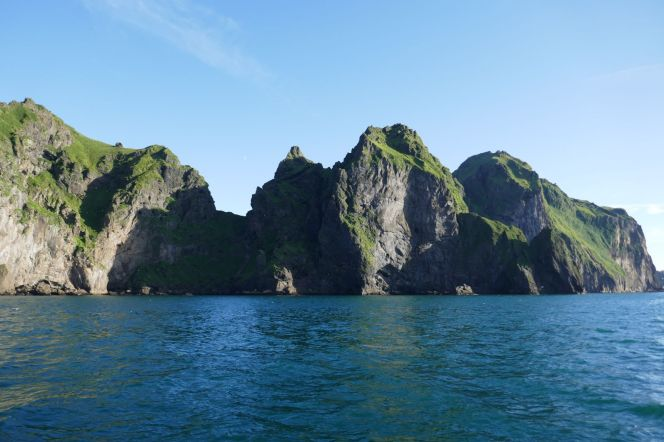 Island - Westm+ñnner Inseln Heimaey - Felsk++ste-2