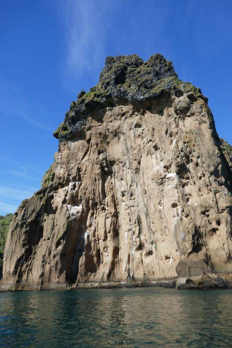 Island - Westm+ñnner Inseln Heimaey - Felswand-2