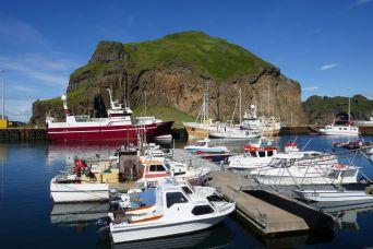 Island - Westm+ñnner Inseln Heimaey - Hafen