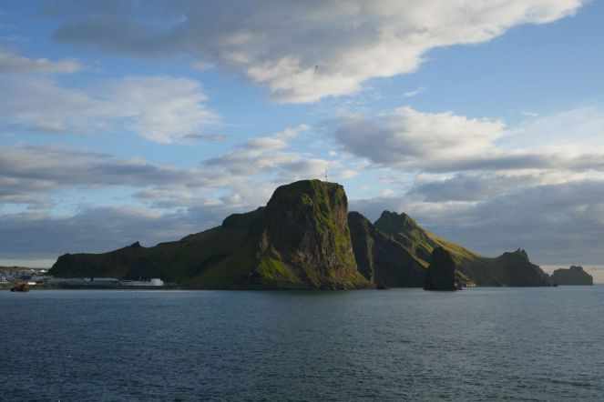 Island - Westm+ñnner Inseln Heimaey - Inselpanorama