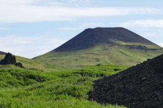 Island - Westm+ñnner Inseln Heimaey - Vulkan