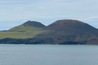 Island - Westm+ñnner Inseln Heimaey - Vulkane