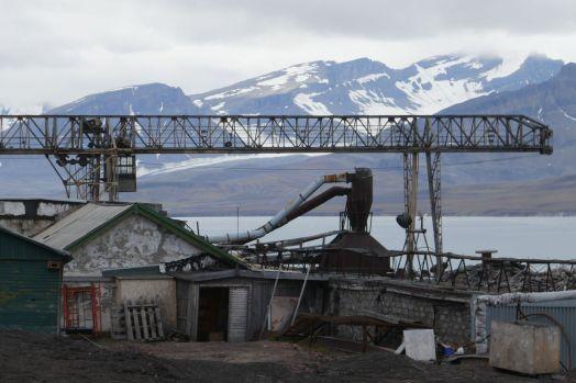 Barentsburg - altes Fabrikgelände