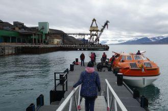 Barentsburg - Anleger