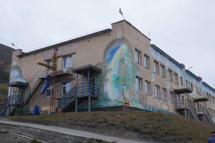 Barentsburg - ehemalige Schule-1
