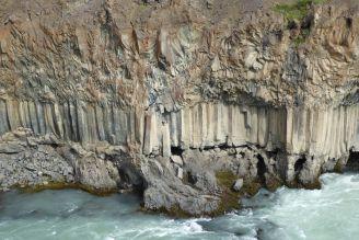 Island - Akureyri - Aldeyjarfoss Granitwand-1