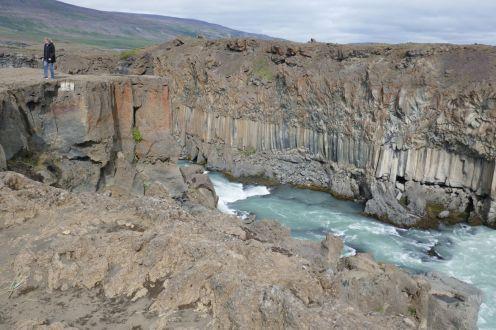 Island - Akureyri - Aldeyjarfoss Granitwand-4 Lydia