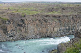 Island - Akureyri - Aldeyjarfoss Granitwand-7