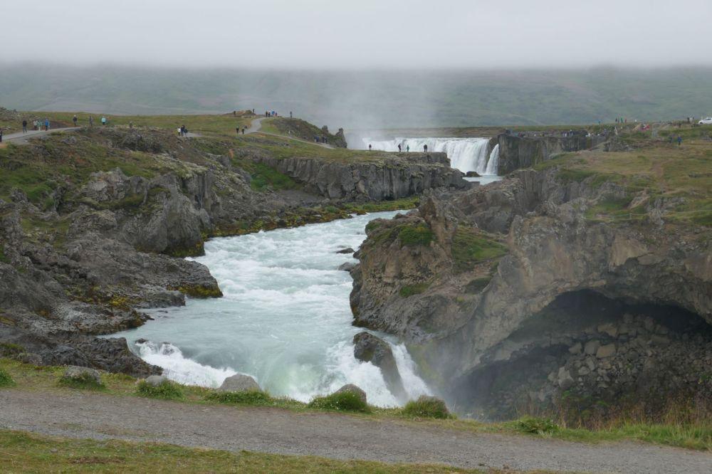 Island - Akureyri - Godafoss
