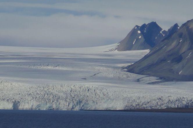 Spitzbergen - Gletscher am Billefjord-2