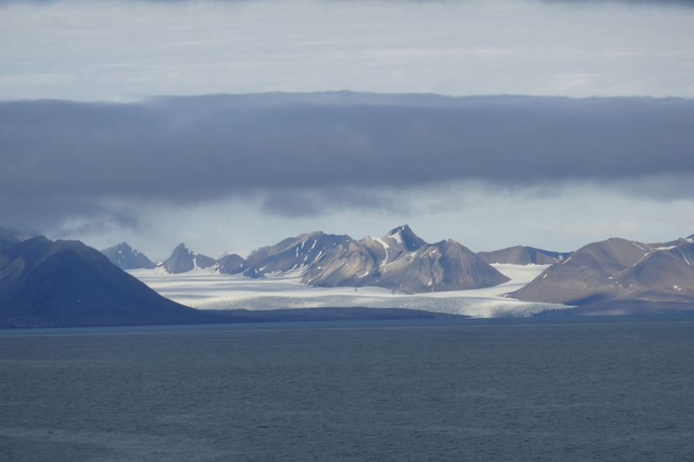 Spitzbergen - Gletscher am Ijsfjord-1