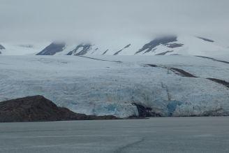 Spitzbergen - Gletscherabbruch am Meer