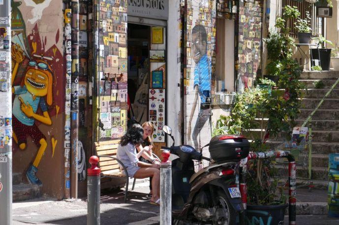 Marseille - Graffitti Altstadt