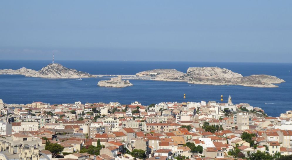 Marseille - Inselblick