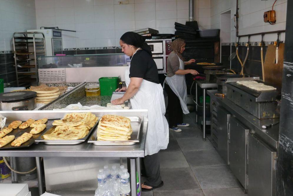 Marseille - Markt Bäckerei