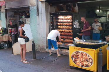 Marseille - Markt Grill