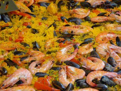Marseille - Markt Paella