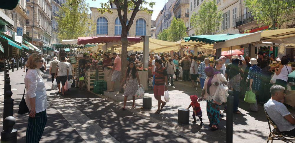 Marseille - Markt