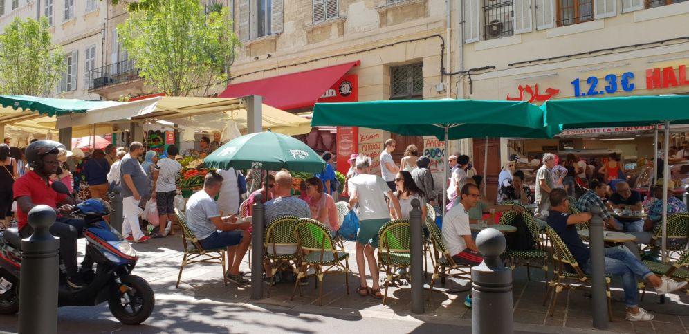 Marseille - Marktplatz