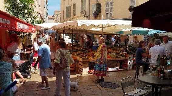 Saint Tropez - Markt-1