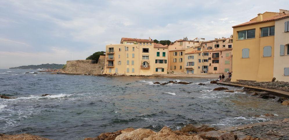 Saint Tropez - Stadt vom Wasser aus-2