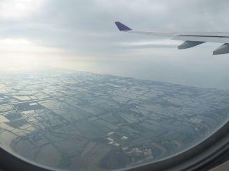 Start in Bangkok - Reisfelder