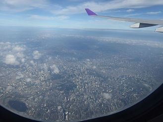 Start in Bangkok - Stadt