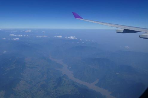 Anflug auf Hanoi - Roter Fluss