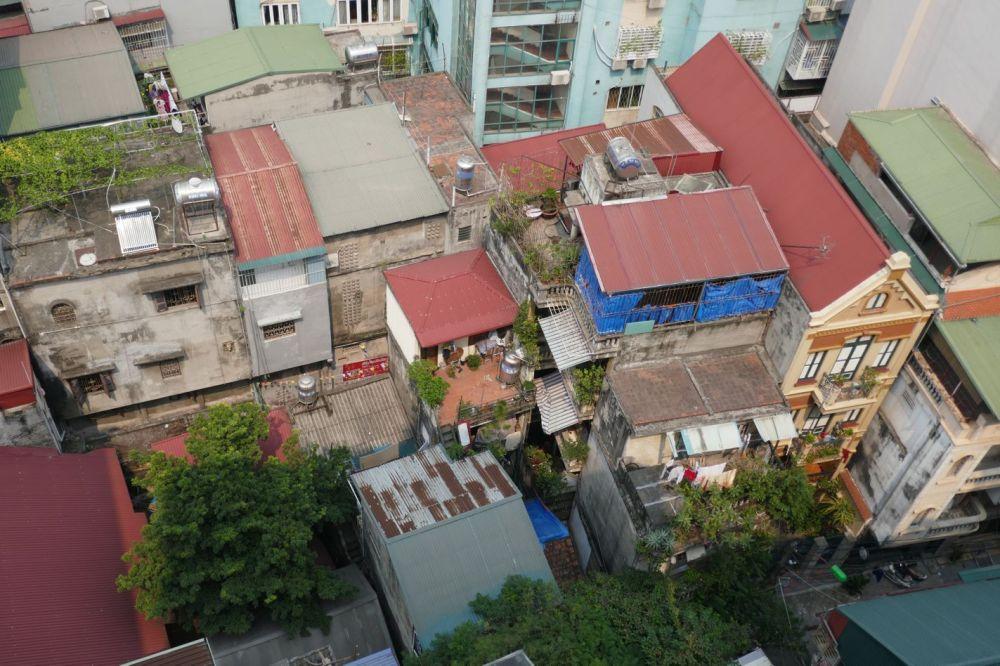 Hanoi - Aussicht vom Hotel