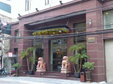 Hanoi - Eingang Flower Garden Hotel