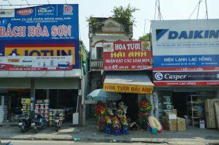 Hanoi - Geschäfte am Straßenrand