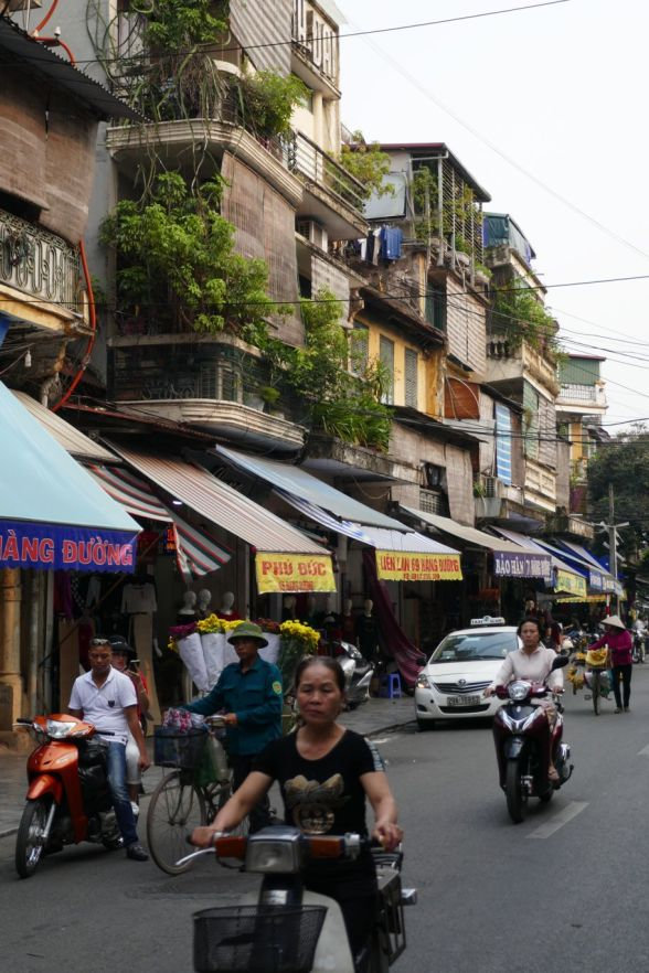 Hanoi - Altstadtstraße