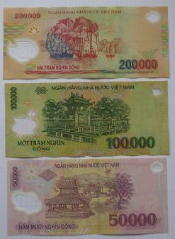 Vietnam - Rückseite der Geldscheine