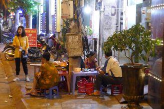 Hanoi - Garküche Abend-1